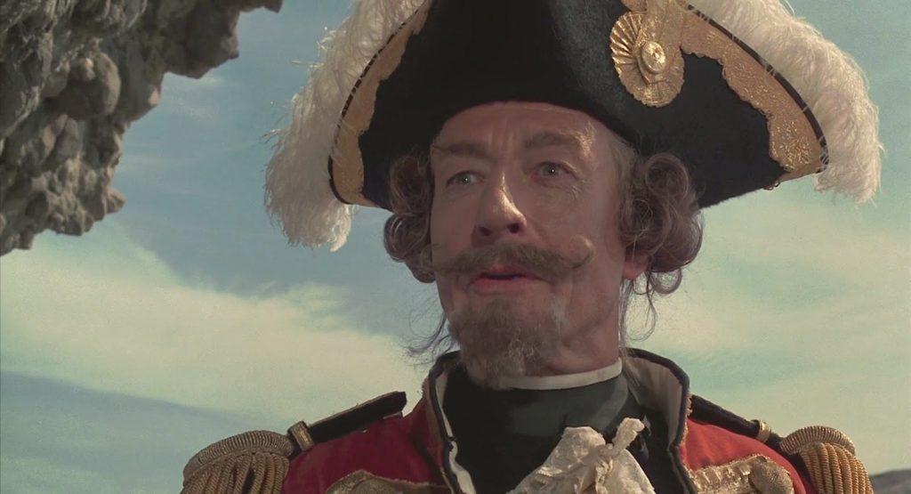 Мюнхаузен из фильма Гиллиама. Не знаем, видел ли Терри версию Марка Захарова, но ему наверняка бы понравилось.
