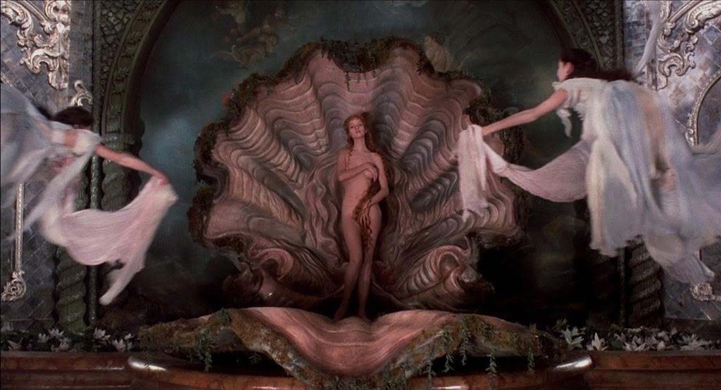 «Рождение Венеры» в «Мюнхаузене» Гиллиама.