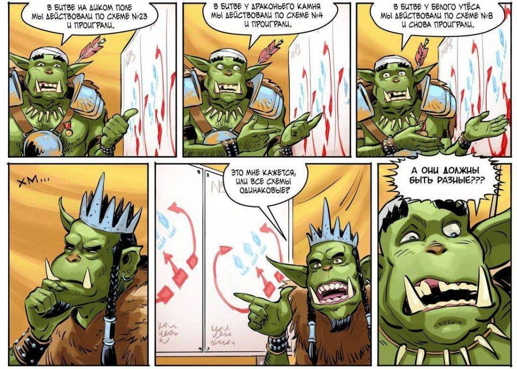 Комикс: Война и орки-2