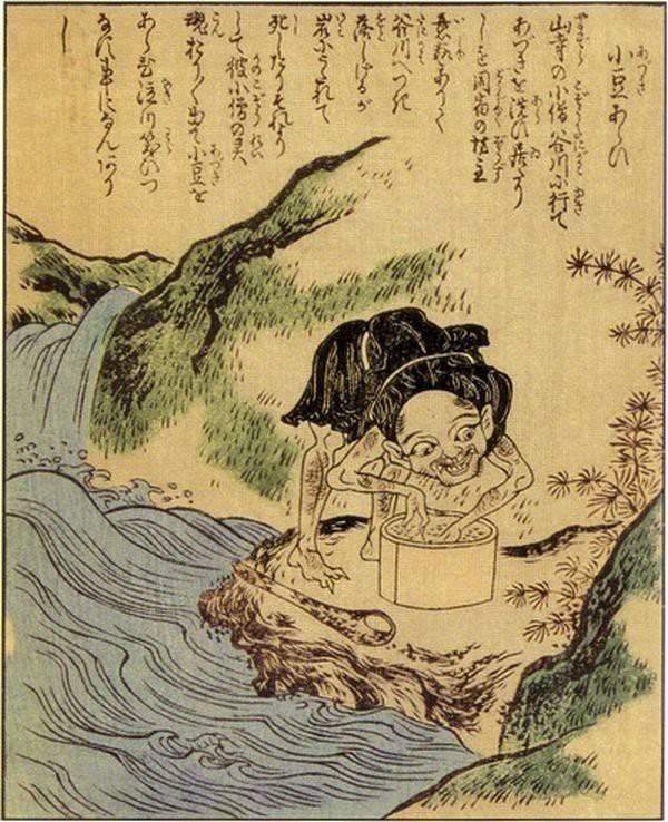 Адзуки-араи. В Азии бобы адзуки всегда варились с саÑаром и были чем-то вроде конфет.