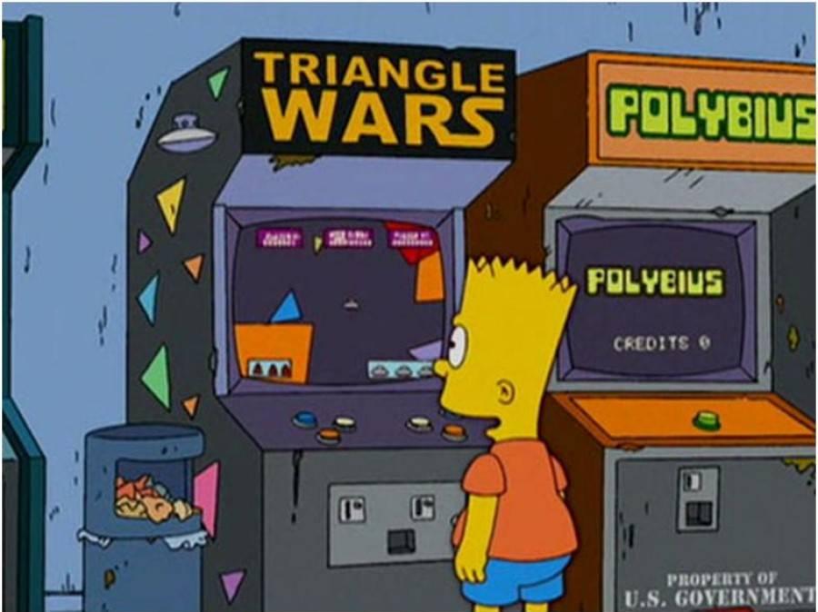 Polybius Simpsons