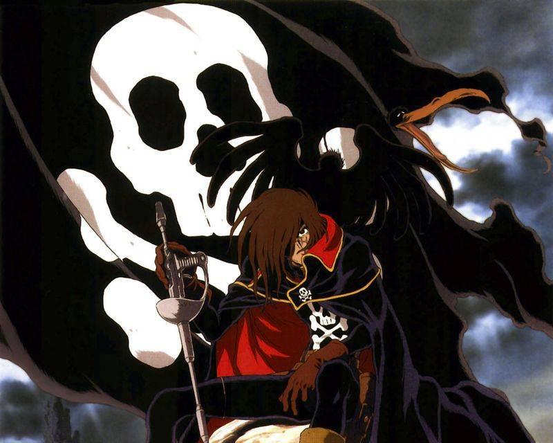 Эмо-пират Харлок заставляет своих жертв рыдать.
