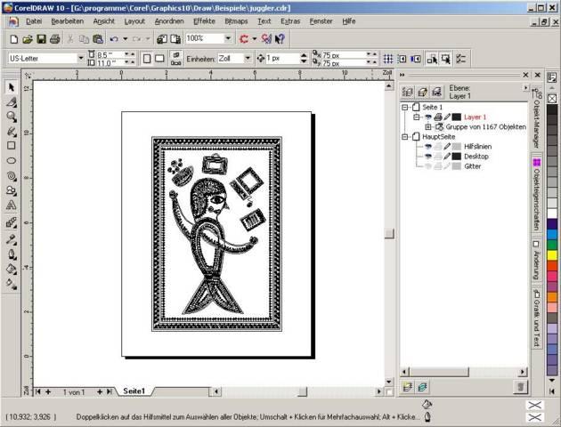 Незнайка нарисовал в графическом редакторе
