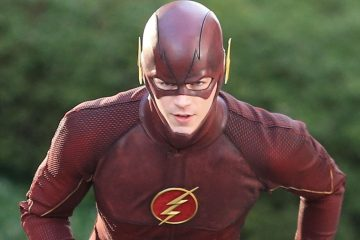 51352547 First shots of actor Grant Gustin wearing his Flash costume on the set of 'The Flash' in Vancouver, Canada on March 11, 2014. FameFlynet, Inc - Beverly Hills, CA, USA - +1 (818) 307-4813