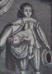 Лазарус и Иоанн-Баптист Коллоредо — одни из первых успешных европейских сиамцев, сделавших на своём уродстве состояние. Гравюра 1634 года.