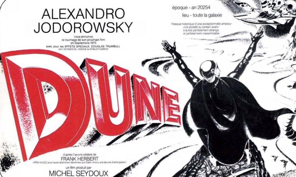 Первый постер «Дюны» был на французском, что неудивительно: костяк съёмочной группы базировался в Париже