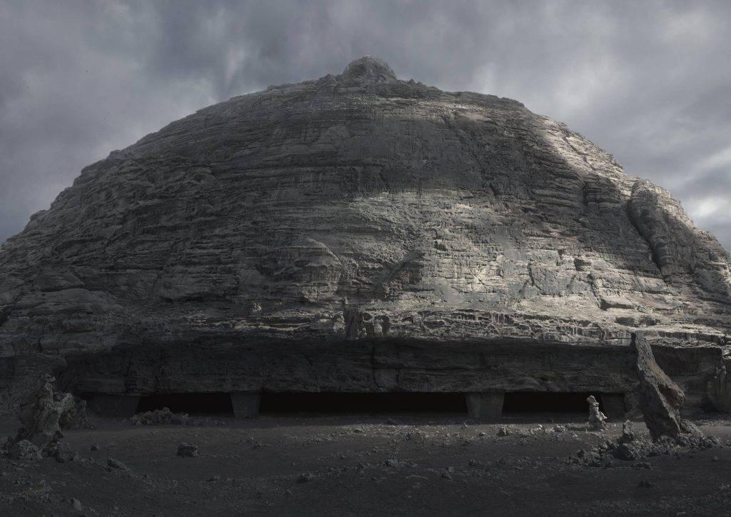 В недавнем «Прометее» есть кадры, один к одному повторяющие гигеровские эскизы замка Харконнена