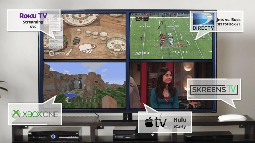 Приставка для деления экрана SkreensTV предназначалась в первую очередь геймерам