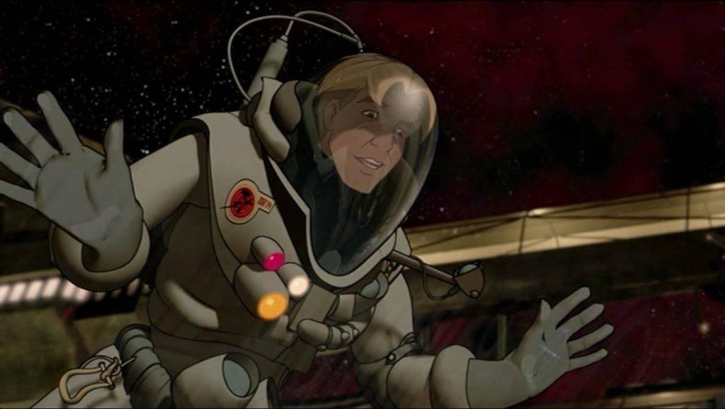 Герой «Титана», похоже, даже срисован с Деймона.