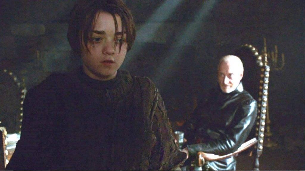 Мальчик, подозрительно похожий на Арью Старк! А тебя я попрошу остаться… и принести мне ещё вина!