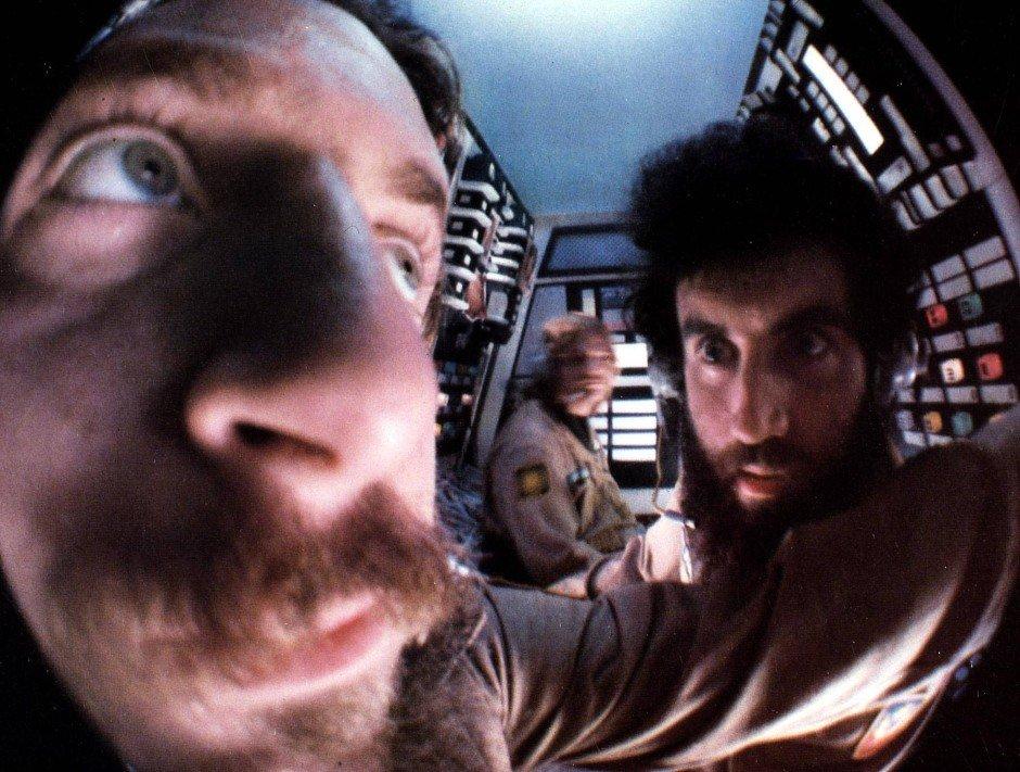 «Тёмная звезда»: комедийный прототип «Чужого». На переднем плане — сам О'Бэннон.