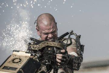 Matt Damon stars as Max in TriStar Pictures' ELYSIUM.