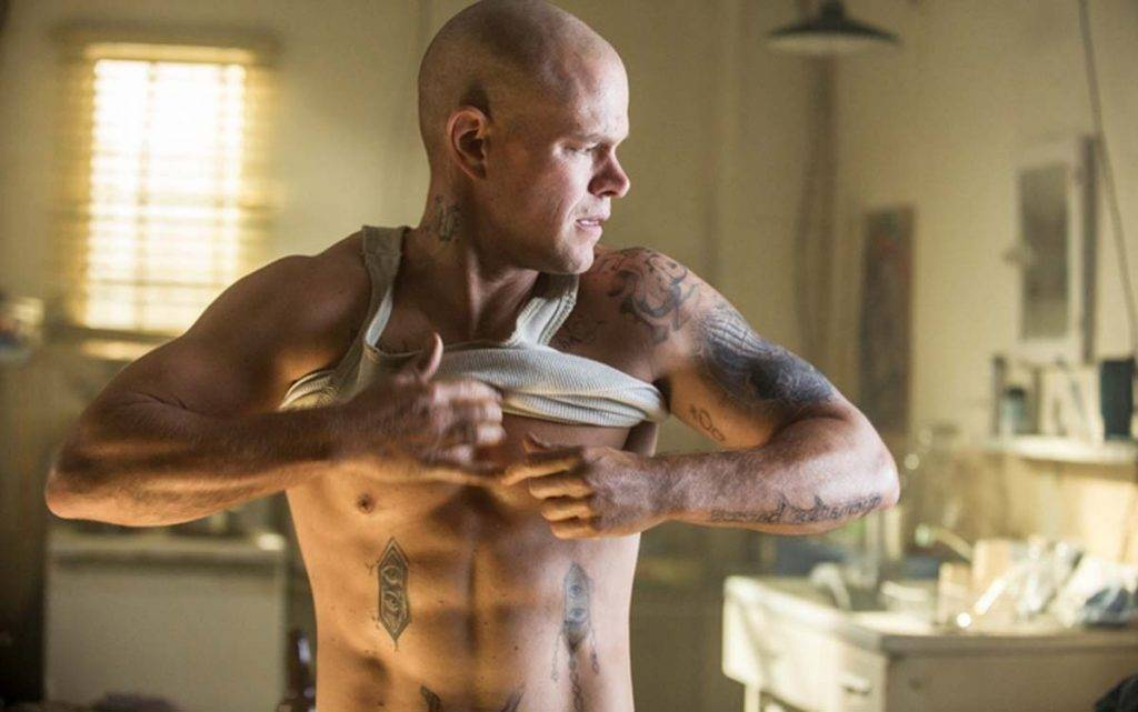 Бритый накачанный парень в татуировках: Нил Бломкамп показал нам Мэтта, которого мы ещё не видели