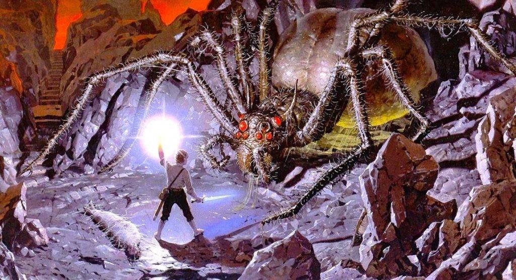 Имя Шелоб происходит от староанглийского слова, означающего «паук».