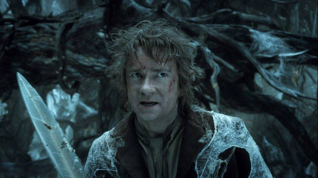 MARTIN FREEMAN as Bilbo in the fantasy adventure movie THE HOBBIT: THE DESOLATION OF SMAUG, a production of New Line Cinema and Metro-Goldwyn-Mayer Pictures (MGM), released by Warner Bros. Pictures and MGM. Photo Credit: Warner Bros. Pictures.