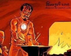 Комикс: Мотивация Тони Старка 2