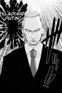 Putin manga