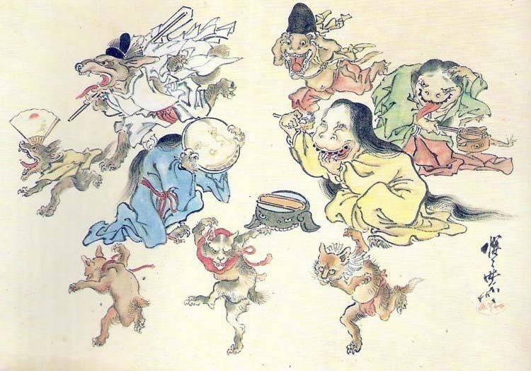 Хиякки Яко, ежегодный парад призраков. На улицу в это время лучше не выÑодить.