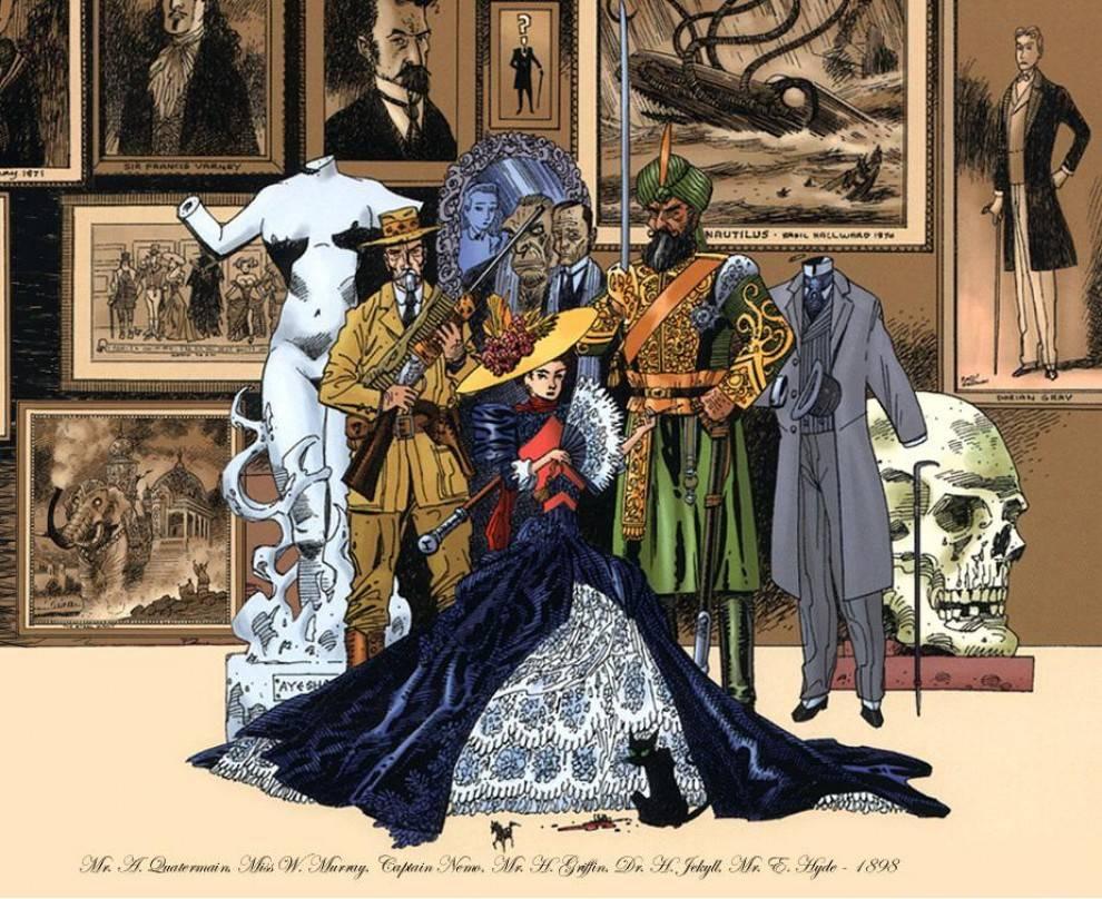 «Лига выдающихся джентльменов». В комиксе были все персонажи викторианской эпохи — от профессора Мориарти до доктора Моро