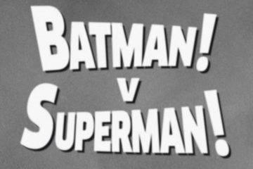 «Бэтмен против Супермена» в 1949 году