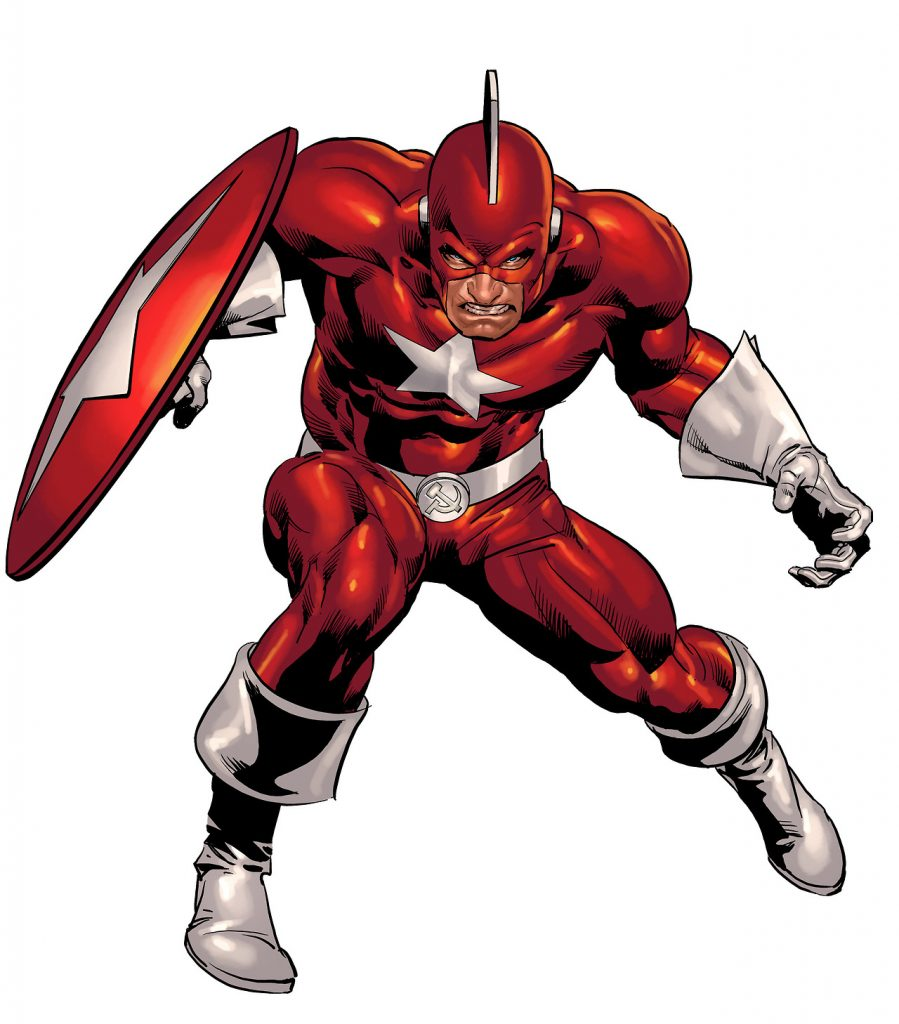 Red Guardian Marvel