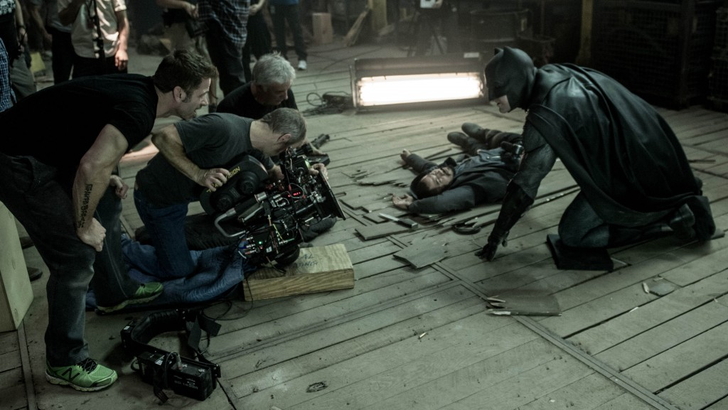 Новый кадр со съёмок «Бэтмена против Супермена», © Total Film