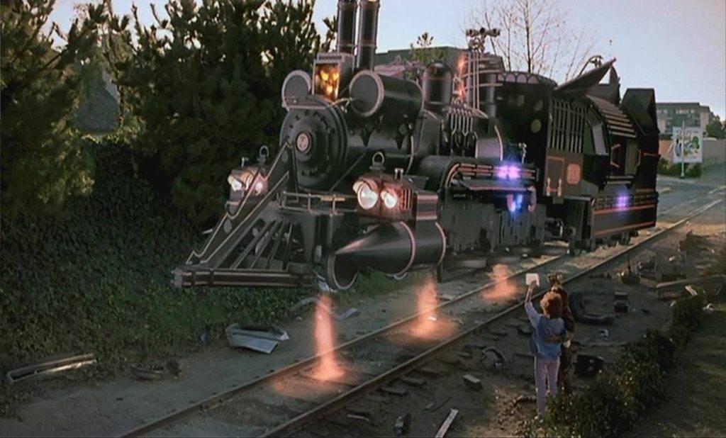 Фантастический вестерн «Назад в будущее 3». Плакат этого фильма впервые в истории был нарисован на компьютере