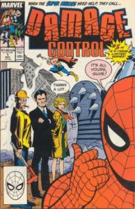 Первый комикс о «Контроле за разрушениями» вышел в 1988 году