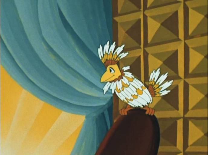 Птица Говорун. Отличается умом и сообразительностью.