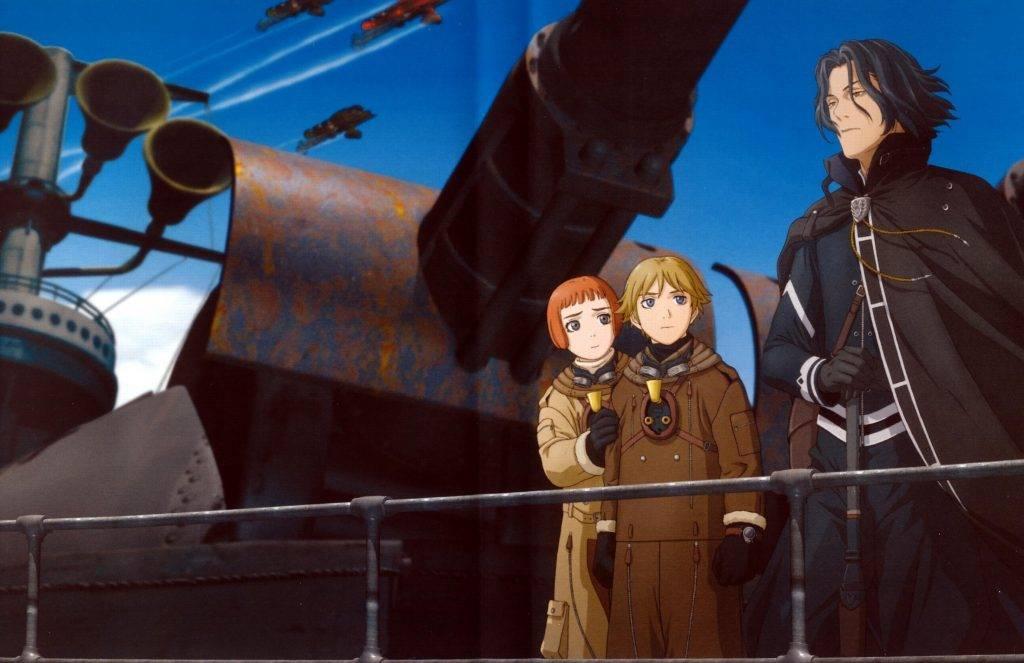 «Изгнанник»: один из самых известных стимпанковских аниме-сериалов.