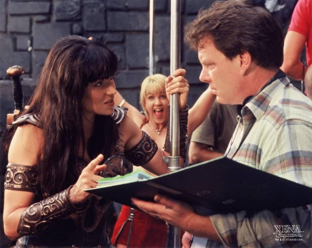 Съёмочные площадки сериалов оказались настоящей «брачной конторой».Люси Лоулесс вышла за Роба Тейперта...
