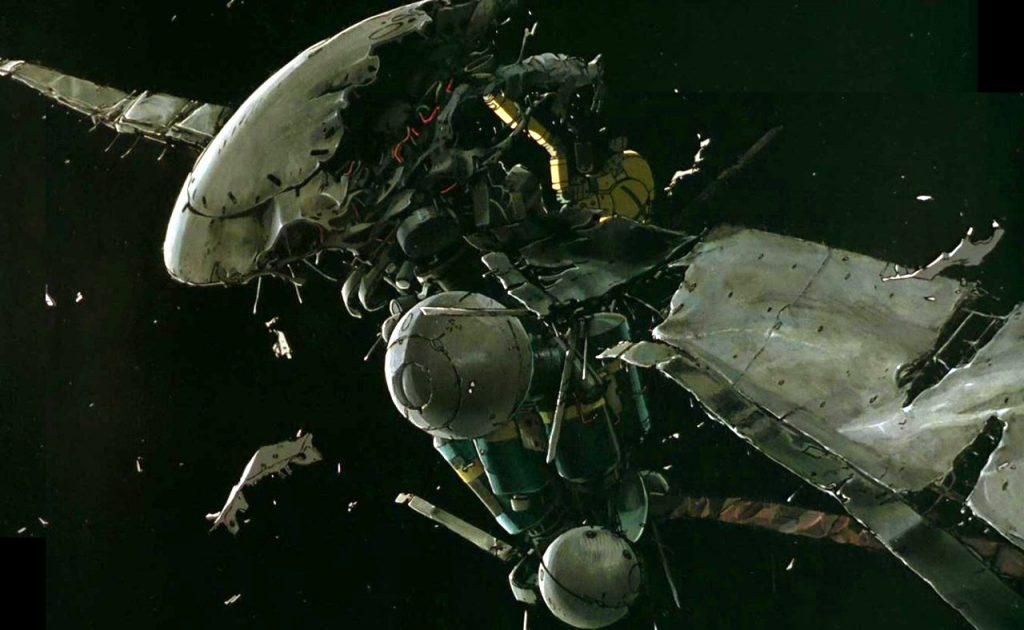 Порой космические мусорщики совершают удивительные открытия («Воспоминания о будущем», аниме 1995 года)