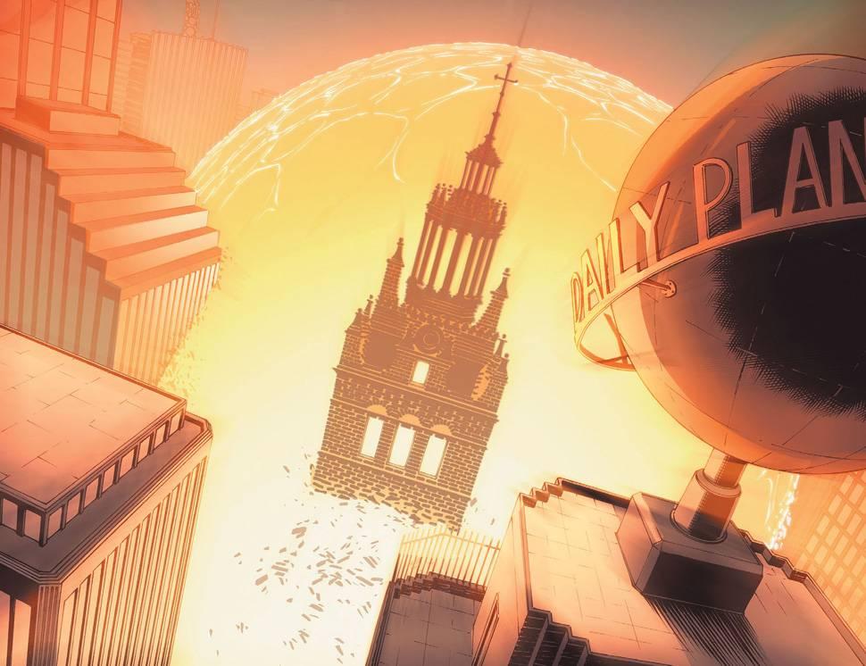 Метрополис несколько раз погибал из-за ядерного взрыва