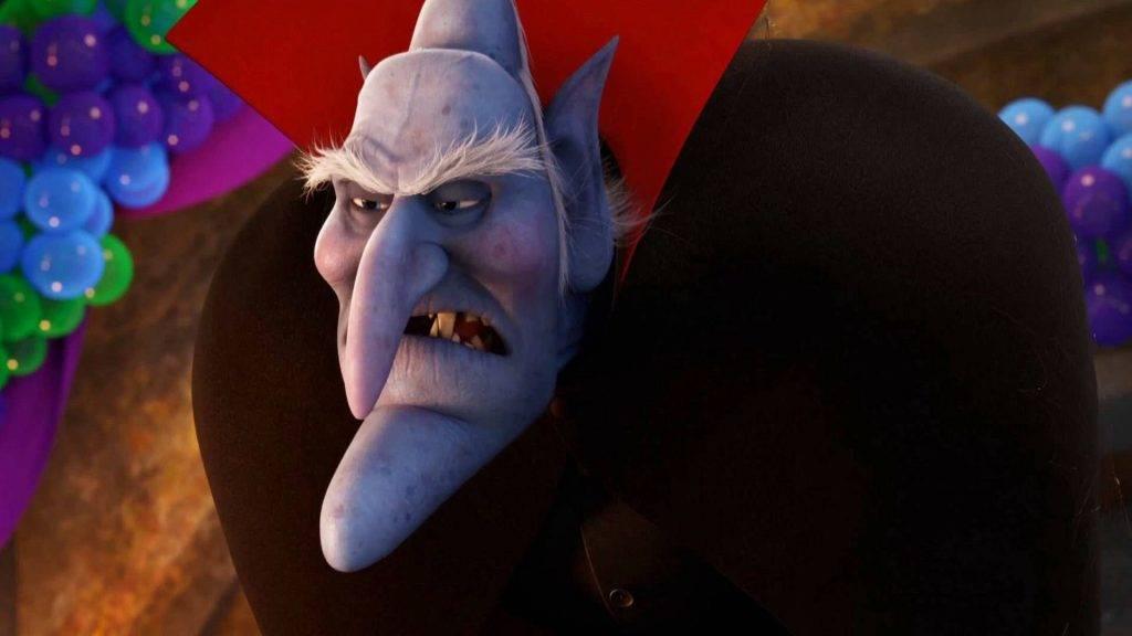 Во второй части появляется отец Драка, нетерпимый к людям вампир Влад, которого озвучил прославленный комик Мэл Брукс, режиссёр фильма «Дракула, мёртвый и довольный».
