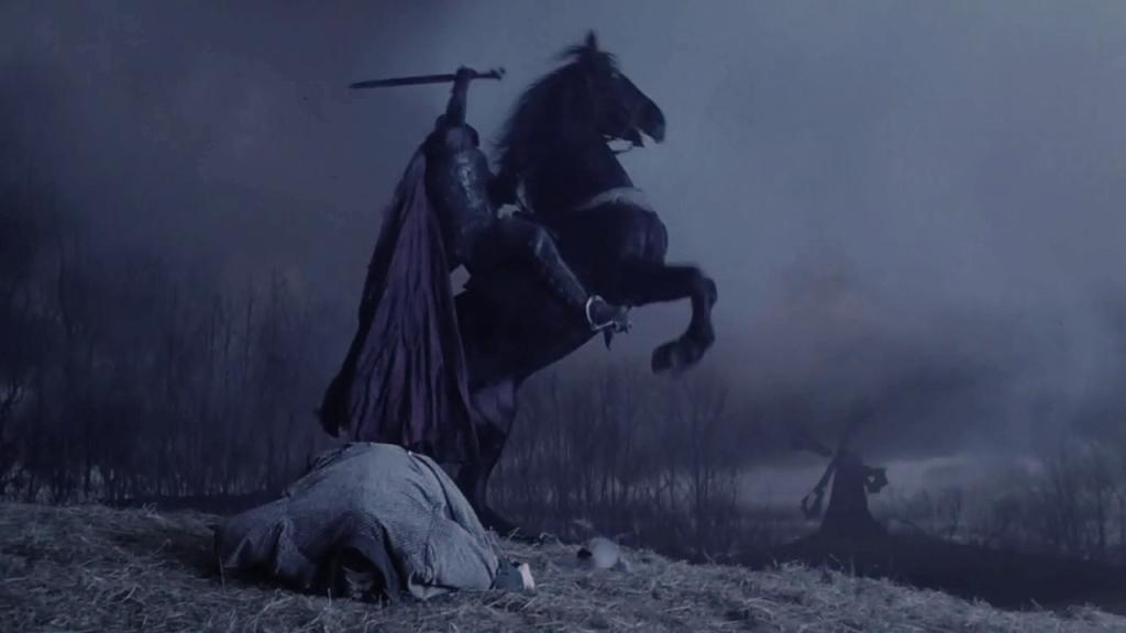 Вфильме Тима Бёртона история «Сонной лощины» превратилась из курьёза в зловещий готический триллер.