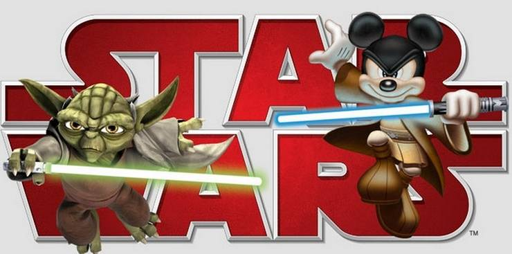 Disney и Лукас подарили интернету неисчерпаемую тему для шуток.