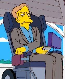 Стивен Хокинг в «Симпсонах»