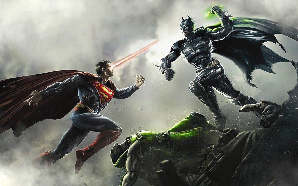 В Injustice: Gods Among Us Супермен выходит на бой против Бэтмен