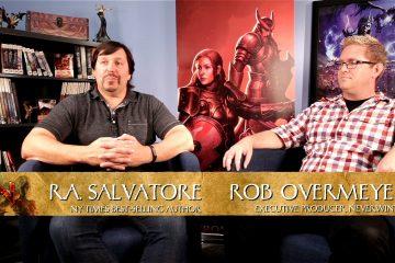 Видеоинтервью с Робертом Сальваторе