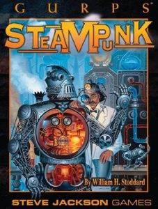 Обложка книги GURPS Steampunk