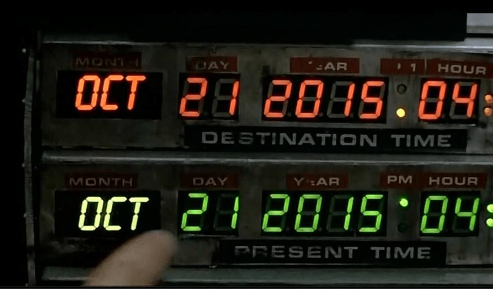 День «Назад в будущее» ввидеороликах