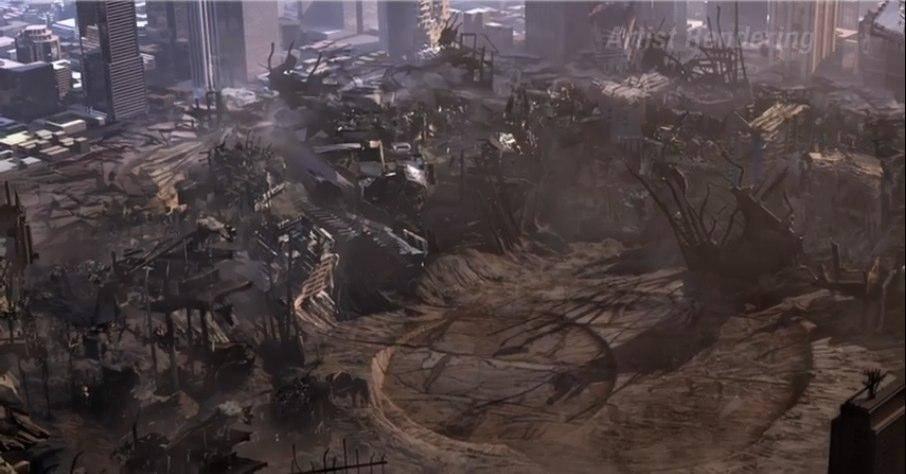 Разрушить полгорода, пытаясь спасти Землю, — ерунда! Зода рубишь — щепки летят...