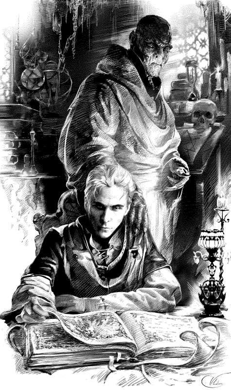 «Только грубый и невежественный маг считает, будто вся некромантия строится на одних лишь жертвоприношениях Тёмным Силам. Это лишь внешний, заметный простому глазу слой. В широком же смысле слова, некромантия — это взаимодействие Живого с Мёртвым». («Рождение мага», Даэнур)