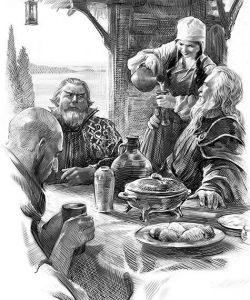 «Существование Долины не было абсолютной тайной, многие маги обычных миров — разумеется, сильнейшие среди своих собратьев — слышали о ней, о великом Архимаге Игнациусе; высшие чины Радуги знали о Долине — но, конечно, лишь то, что сами её обитатели считали возможным рассказать». («Рождение мага»)