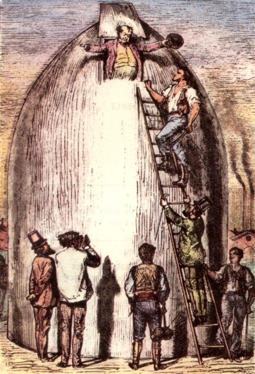 Что предсказал Жюль Верн 19