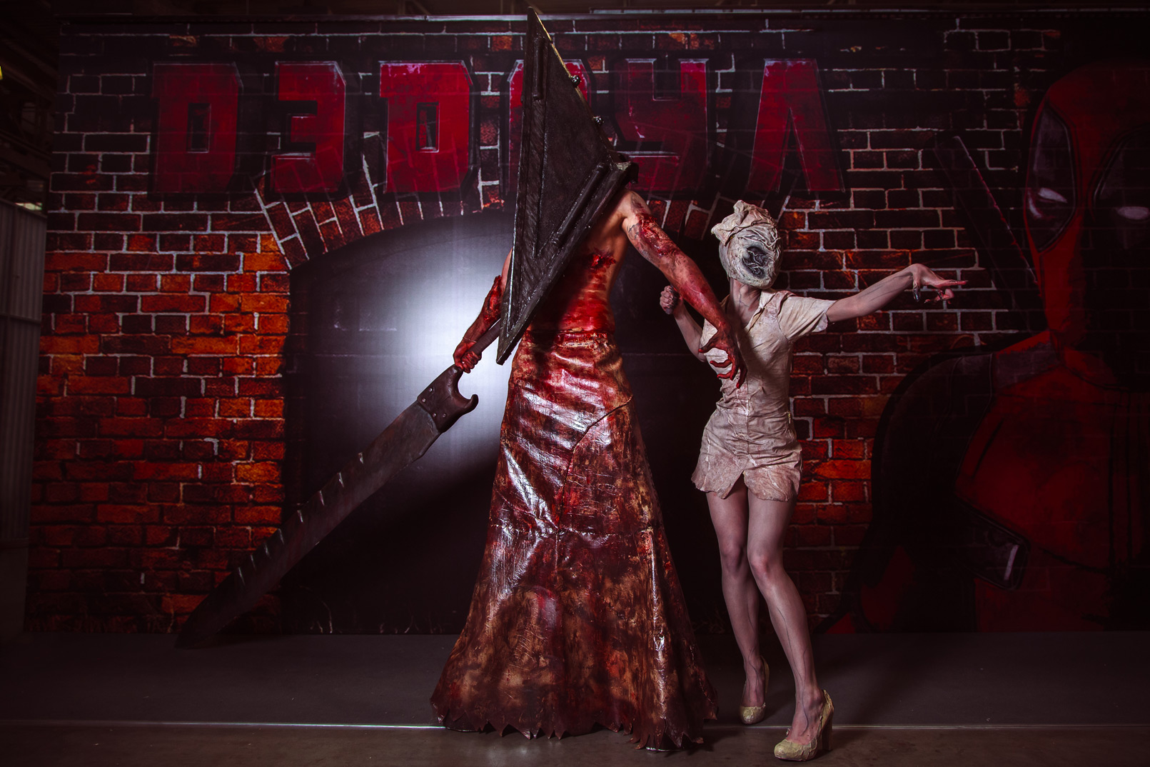 Silent Hill. Косплей на Игромире 2015