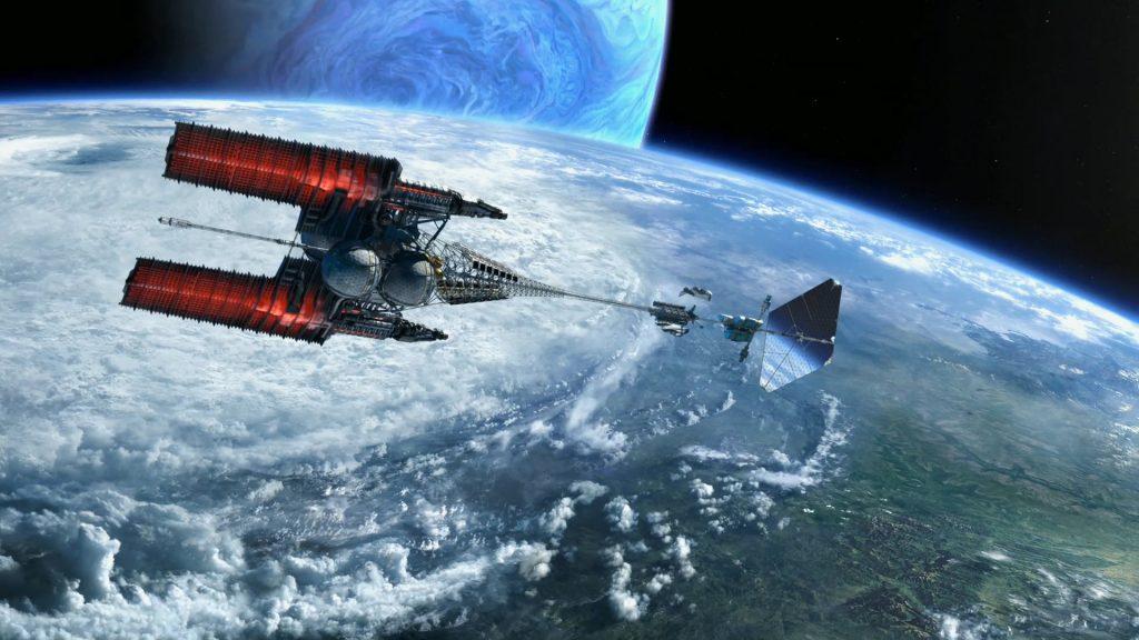 Venture Star в фильме «Аватар». Что интересно, почти такое же название (только без пробела) носил проект многоразового космического корабля, предложенный Lockheed Martin в начале 1990-х.
