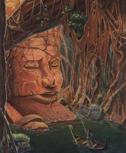 Названия и описания источников отсылают к германоскандинавской мифологии, которую так любит Ник Перумов. Так, например, выглядел мифический Мимир.