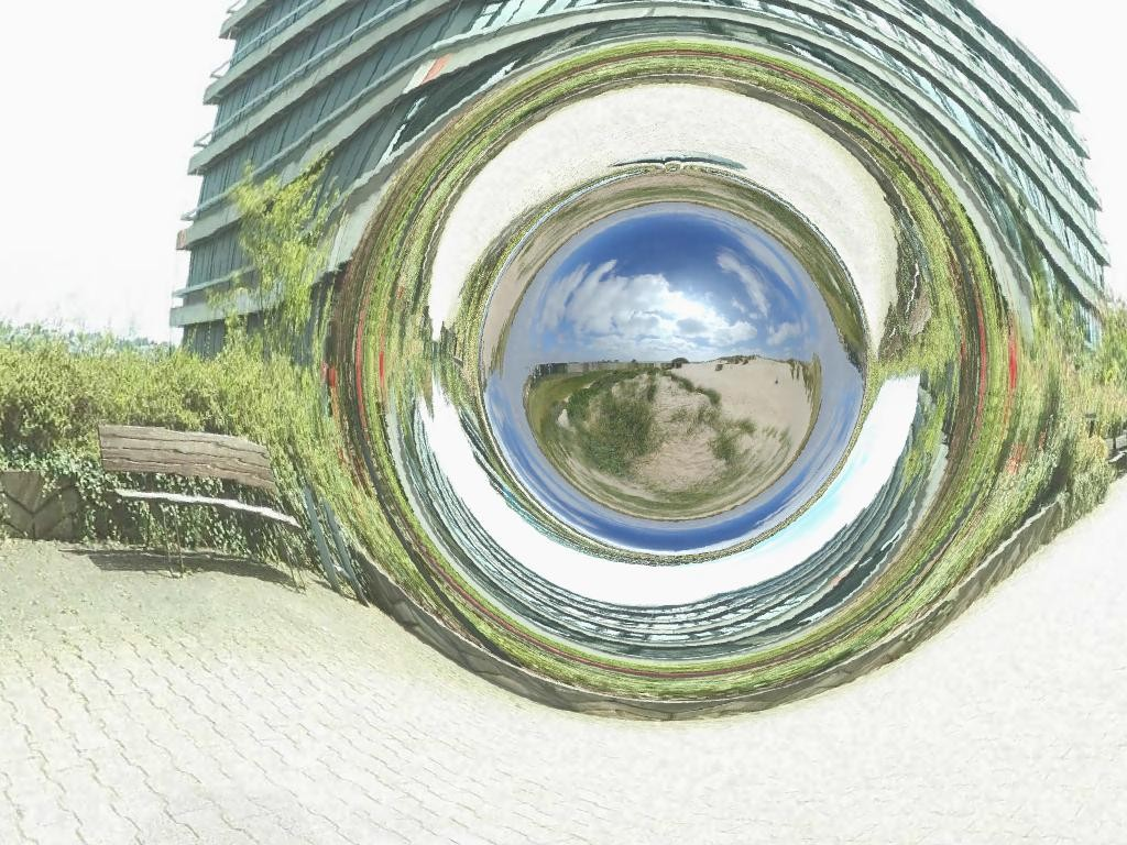 Такой могла бы быть кротовая нора на Земле (CorvinZahn / Wikimedia).