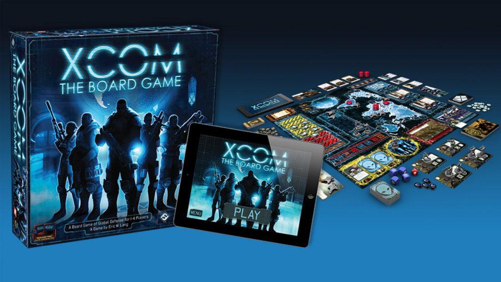 XCOM Настольная игра